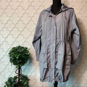 GAP Grey Utility Rain Jacket